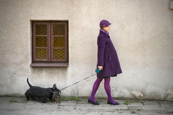 При беременности полезно гулять