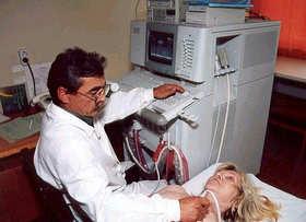 Как делается эхокардиоскопия сердца